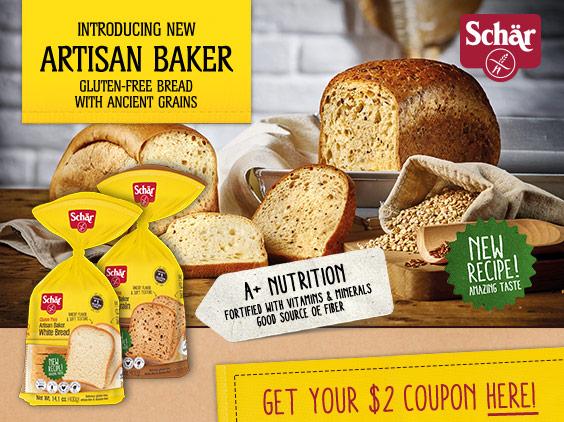 schar bread coupon
